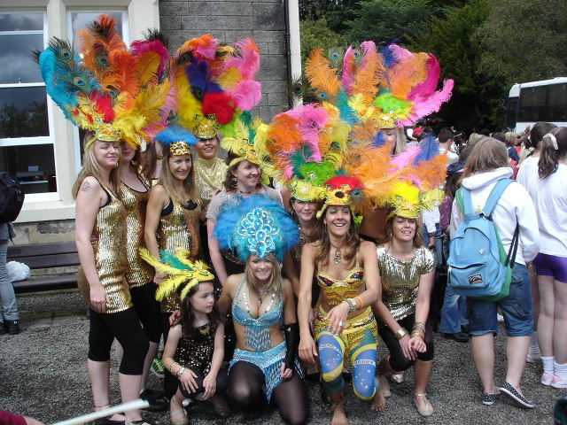 Brazil meets Kilsyth as carnival comes to the Colzium